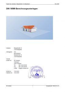 EnEV-Nachweis Wohngebäude